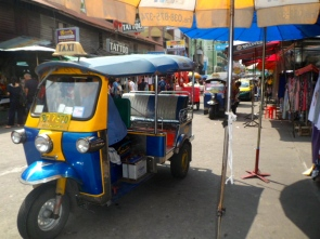 How cool would it be to make a Tuk Tuk and drive it around another part of the world?